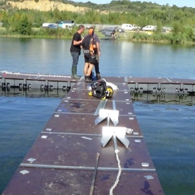 ex projet aquadock perpignan platelage bois concours de peche